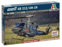 Italeri: 1:72 AB 212/UH-1N Huey - Model Kit