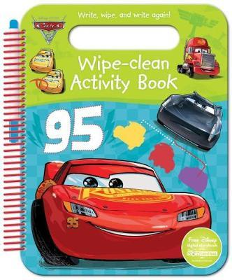 Disney Pixar Cars 3 Wipe-Clean Activity Book by Parragon Books Ltd image