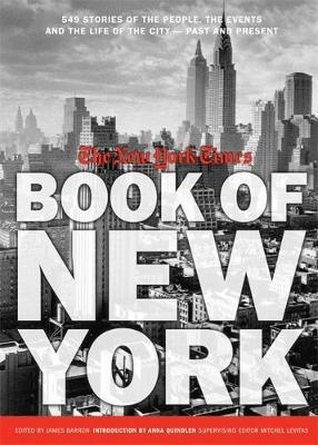 New York Times Book Of New York by James Barron image