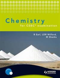 Chemistry for CSEC examination by Bryan Earl image