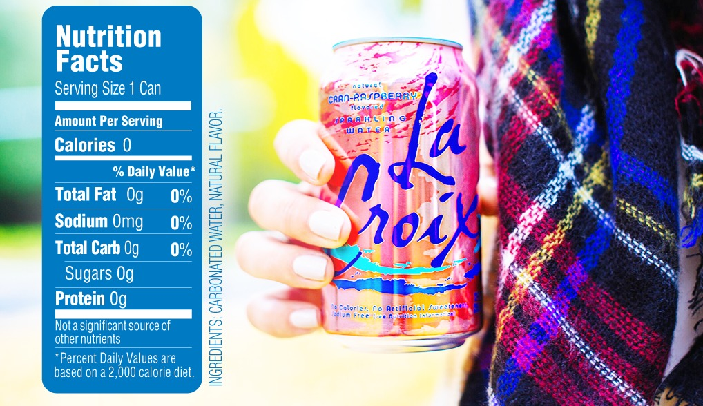 La Croix Sparkling Water - Orange 355ml Can (12 Pack) image