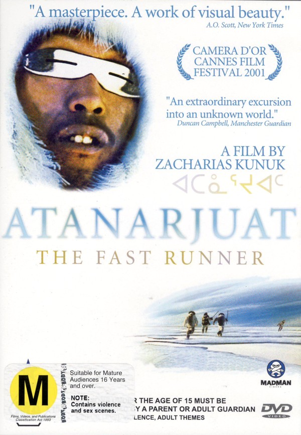 Atanarjuat - The Fast Runner on DVD image