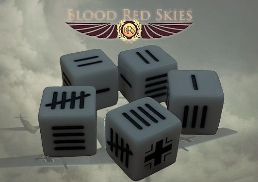 Blood Red Skies: German Dice