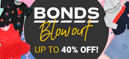 Bonds Baby Clothes Blowout!