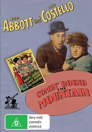 Abbott And Costello: Comin Round The Mountain on DVD