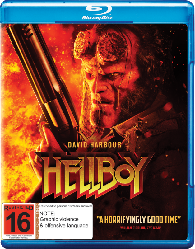 Hellboy on Blu-ray