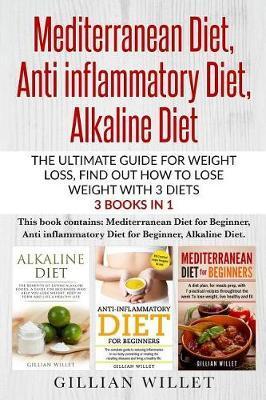 Mediterranean Diet, Anti inflammatory Diet, Alkaline Diet by Gillian Willet