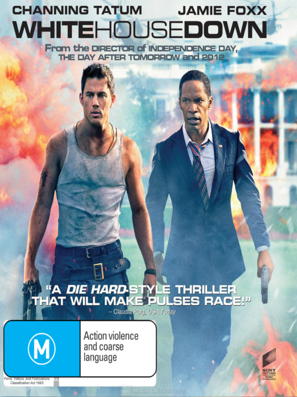 White House Down on DVD
