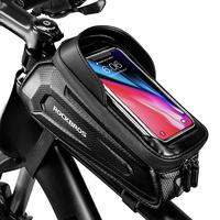 Bike Phone Front Frame Bag Bicycle Bag Waterproof Bike Phone Mount