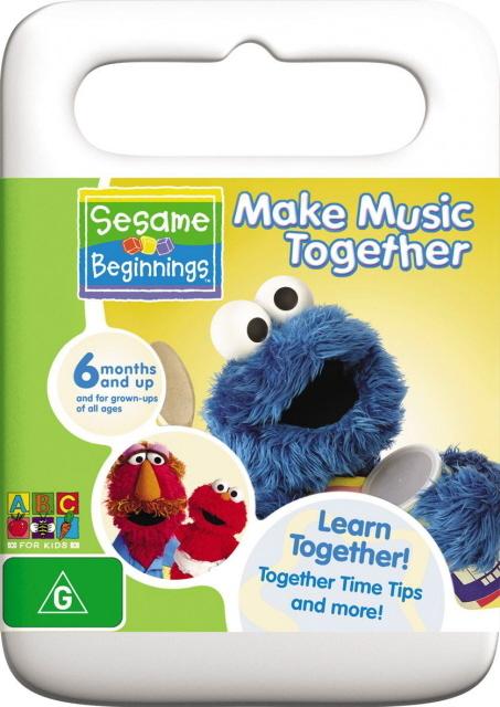 Sesame Beginnings - Make Music Together on DVD