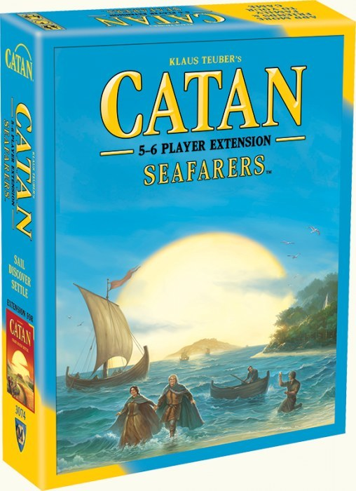 Catan: Seafarers Expansion image