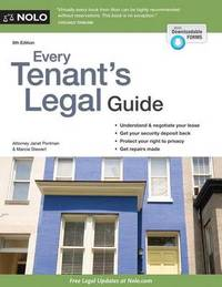 Every Tenant's Legal Guide by Janet Portman