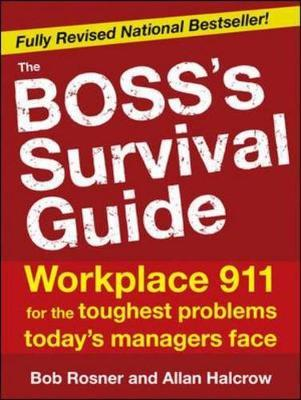 Boss's Survival Guide by Bob Rosner image