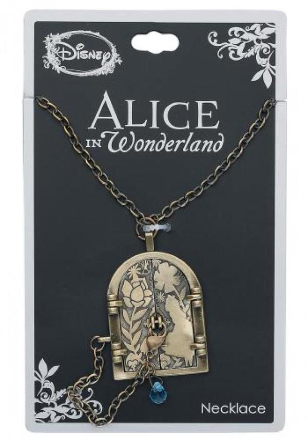 Neon Tuesday: Alice In Wonderland - Curiouser Door Necklace image