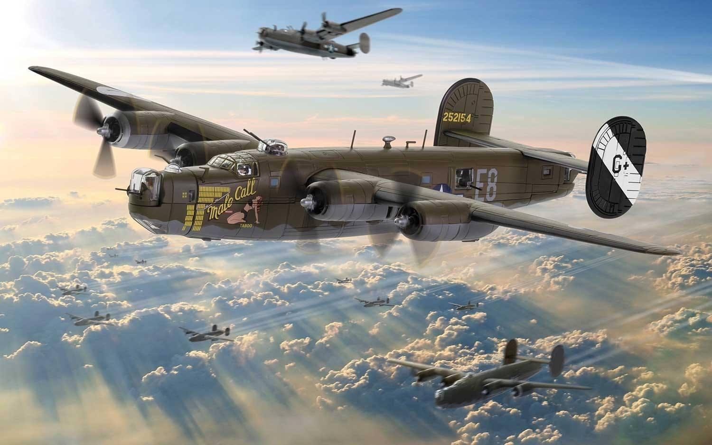 Corgi: 1/72 B-24 Liberator: Male Call - Diecast Model