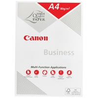 Canon Business A4 80GSM White Photocopy Paper - 1 Ream (500 Sheets)