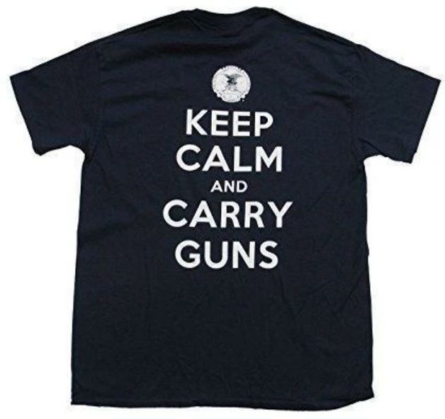 Buck Wear Keep Calm T-Shirt (Medium)