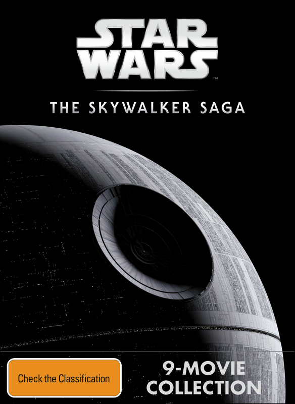 Star Wars Saga Pack on DVD