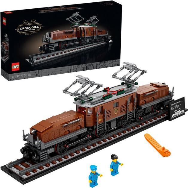 LEGO Creator: Crocodile Locomotive (10277)