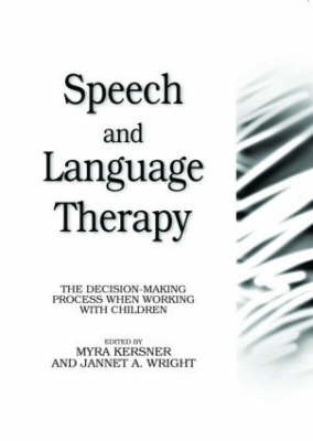 Speech and Language Therapy: The Decision-making Process When Working with Children image