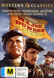 Major Dundee on DVD image