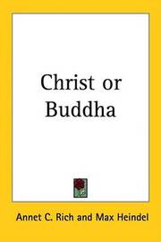 Christ or Buddha by Annet C. Rich image
