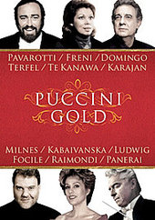Puccini Gold - Various on DVD