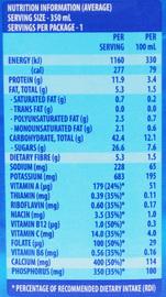 UP&GO Liquid Breakfast Banana 350ml (12 Pack)
