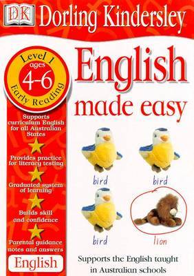 English Made Easy Level 1: Early Reading by Dorling Kindersley