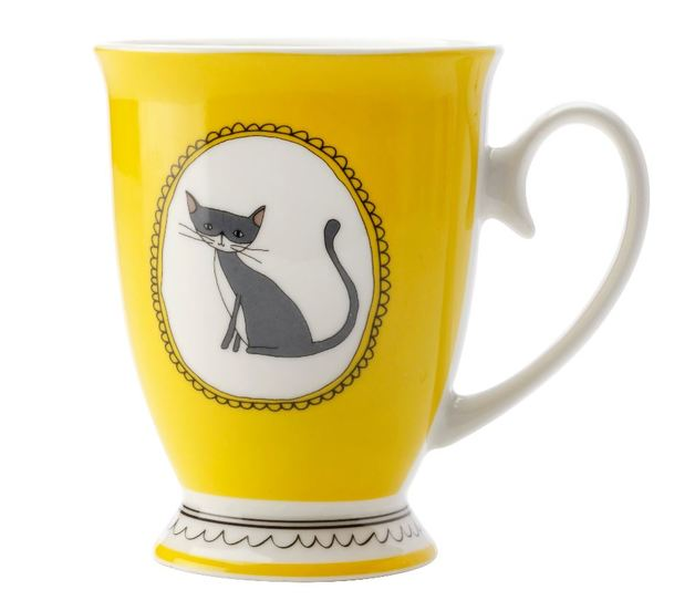 Maxwell & Williams: Purrfect Mug (Yellow)