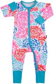 Bonds Zip Wondersuit Long Sleeve - Tokyo Bloom (6-12 Months) image