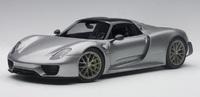 Autoart: 1/18 Porsche 918 Spyder Weissach Package - Diecast Model