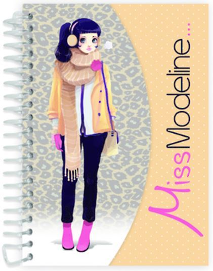 Miss Modeline A6 Notepad and Design Book - Rosalie image