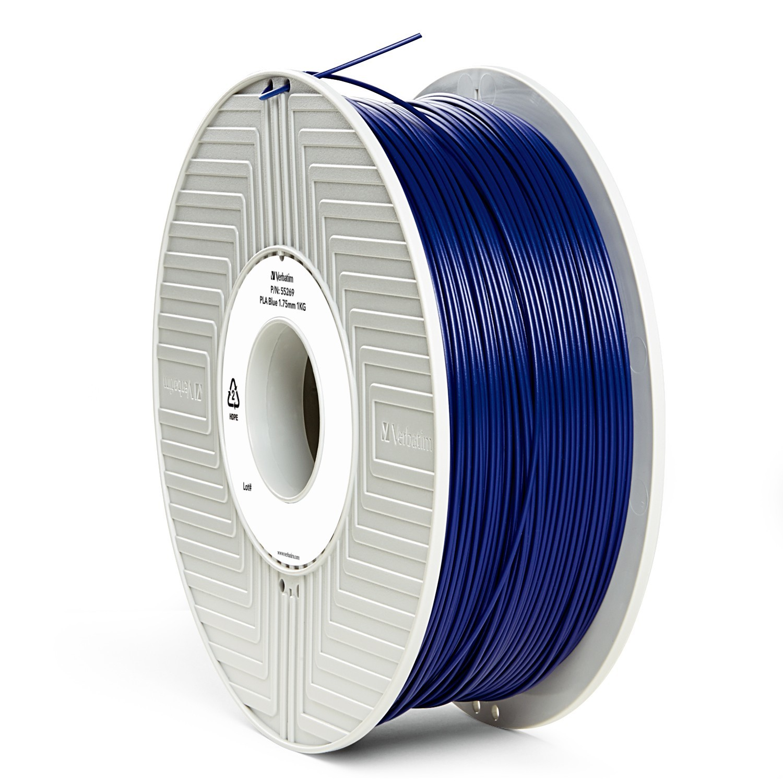 Verbatim 3D Printer PLA 1.75mm Filament - 1kg (Blue) image