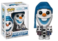 Frozen - Olaf (with Kittens) Pop! Vinyl Figure image