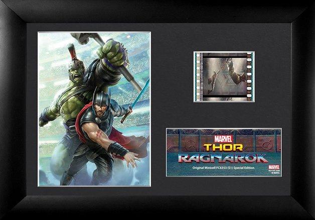 FilmCells: Mini-Cell Frame - Thor Ragnarok (Hulk & Thor)