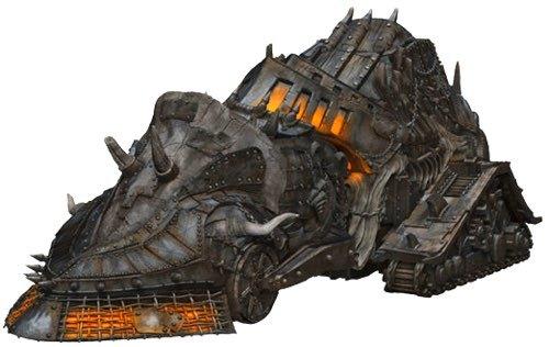 Baldur's Gate Unpainted Miniatures: Descent into Avernus - Infernal War Machine