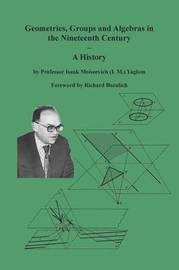 Geometries, Groups and Algebras in the Nineteenth Century - A History by Isaak Moiseevich Yaglom