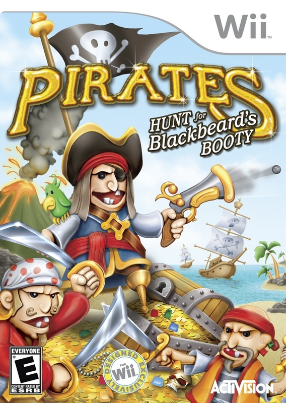 Pirates: Hunt for Blackbeard's Booty for Wii