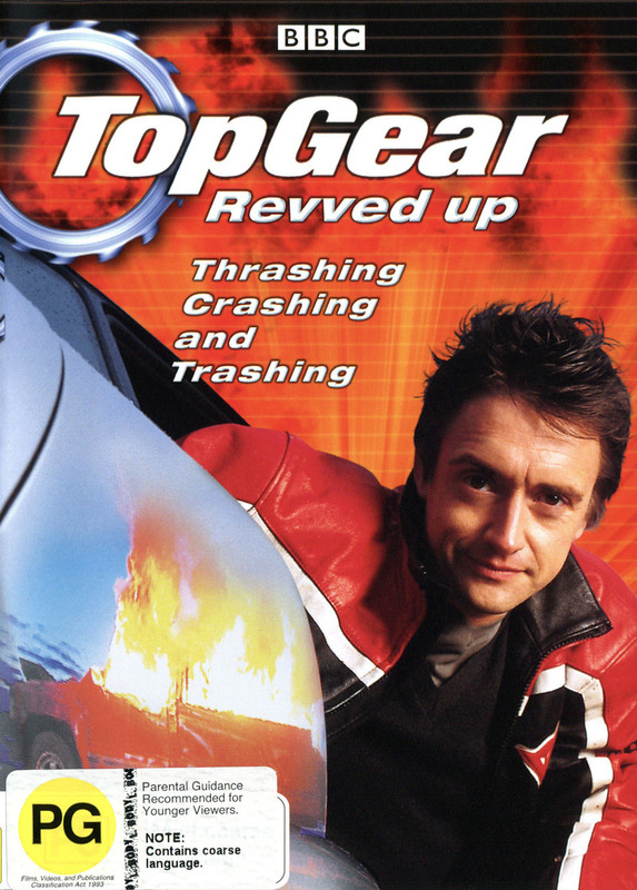 Top Gear - Revved Up on DVD