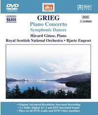 Grieg: Piano Concerto on DVD