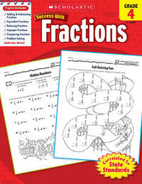 Scholastic Success with Fractions, Grade 4 by William Earl image