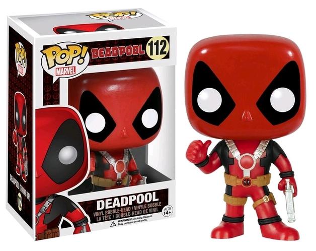 Deadpool - Thumbs Up Pop! Vinyl Figure