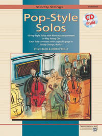 Strictly Strings Pop-Style Solos by Steve Bach image