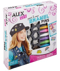 Alex: Paint & Wear - Enamel Pins Kit