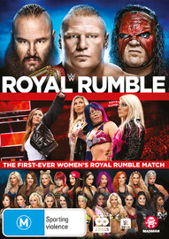 WWE: Royal Rumble 2018 on DVD