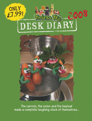 Violent Veg Desk Diary 2008 image