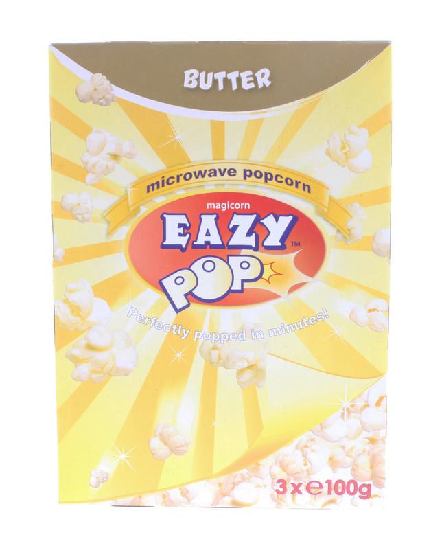 Eazypop: Microwave Popcorn Butter (48pk)