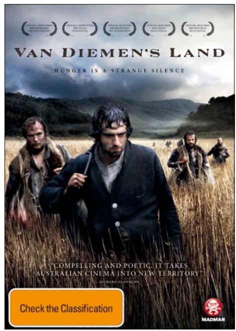 Van Diemen's Land on DVD image
