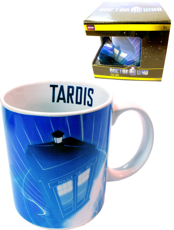 Doctor Who Tardis In Flight Mug